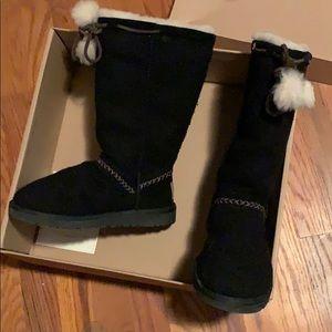UGG Shoes - Black Wool Uggs